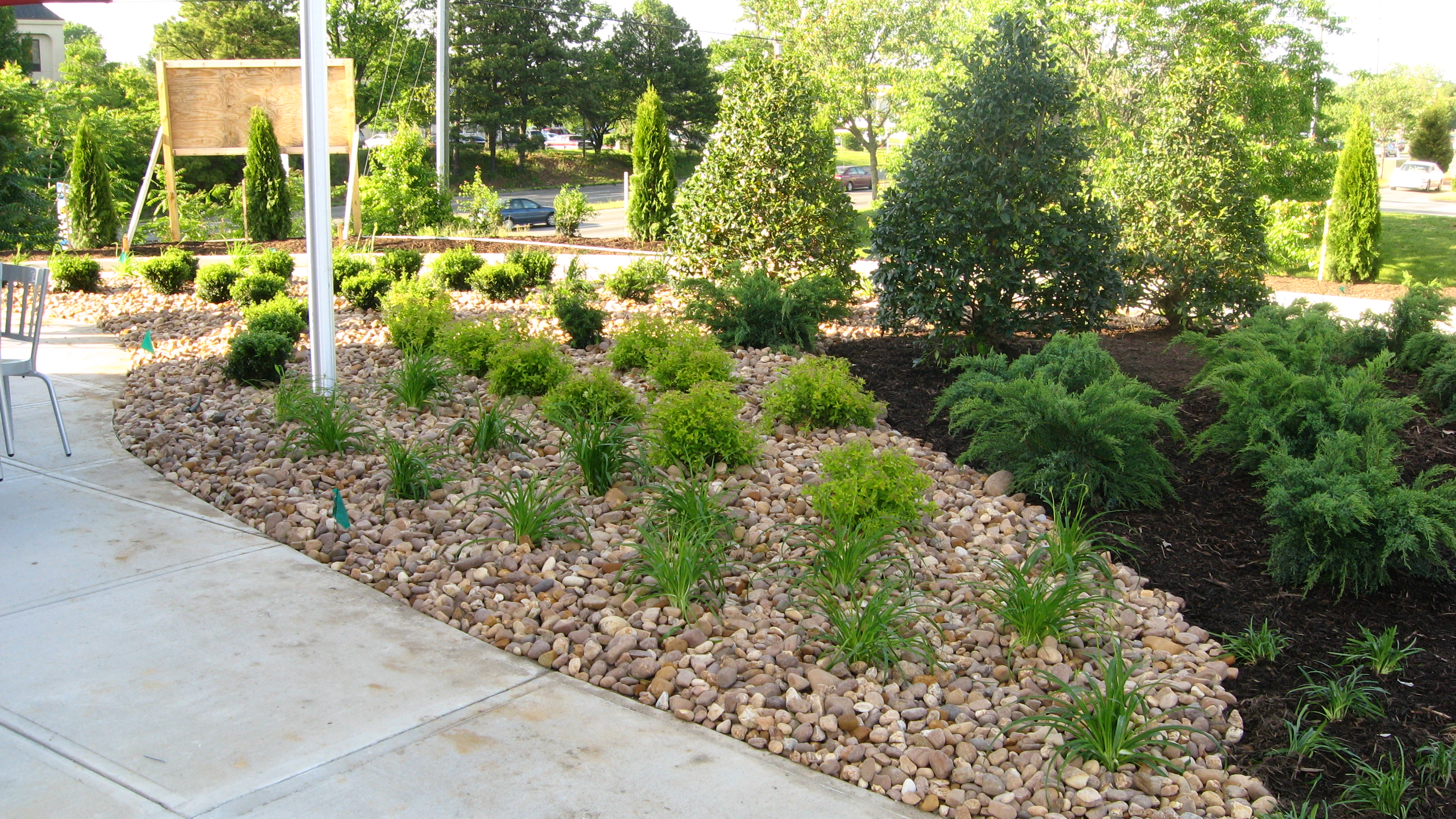 We Specialize In Installing Commercial And Residential Landscapes. Also, We  Offer Full Maintenance Of The Landscapes Following Installation.